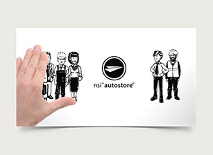 Illustration NSI autostore